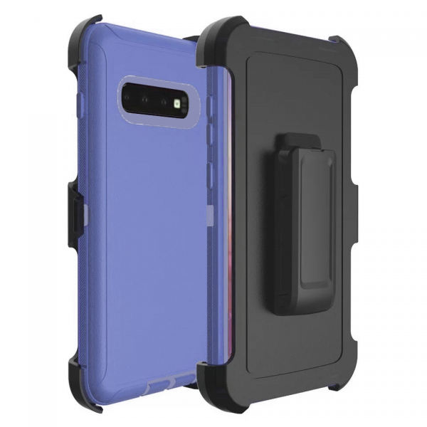 Samsung Galaxy S10 Heavy Duty Case Blue