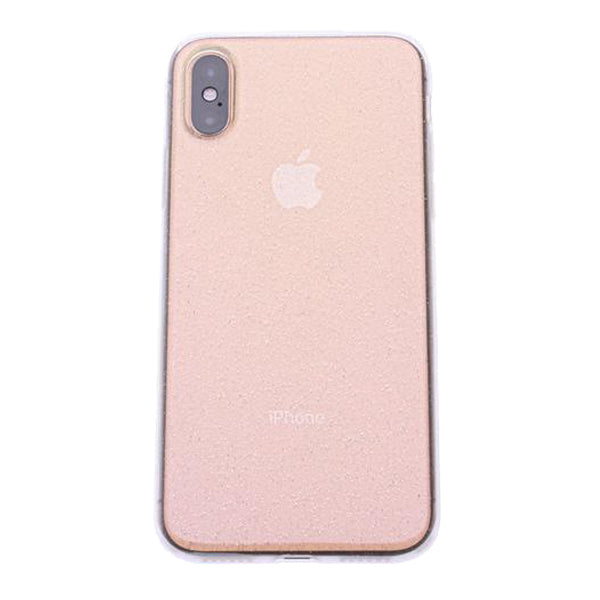 Clear Silicone Glitter iPhone X/XS