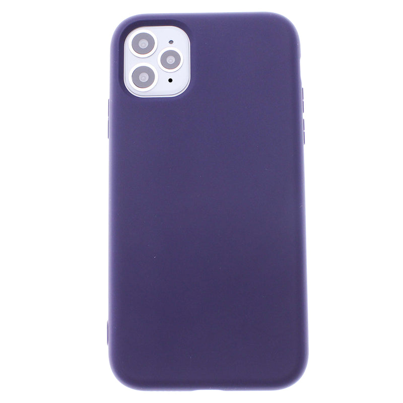 Purple iPhone 11 Pro MAX Soft Silicone TPU Case