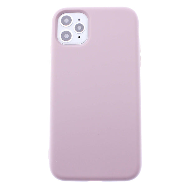 Sand Pink iPhone 11 Pro MAX Soft Silicone TPU Case