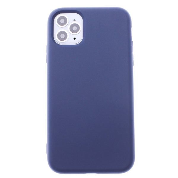 Navy Blue iPhone 11 Pro MAX Soft Silicone TPU Case