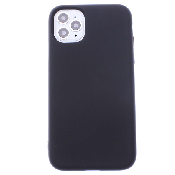 Black iPhone 11 Pro MAX Soft Silicone TPU Case