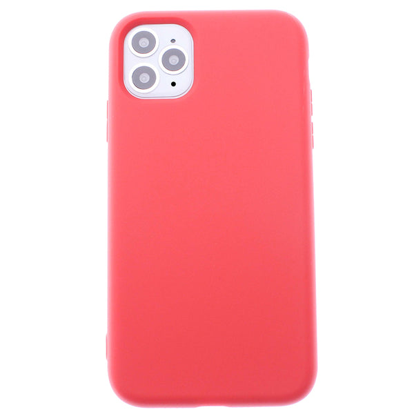 Red iPhone 11 Pro MAX Soft Silicone TPU Case