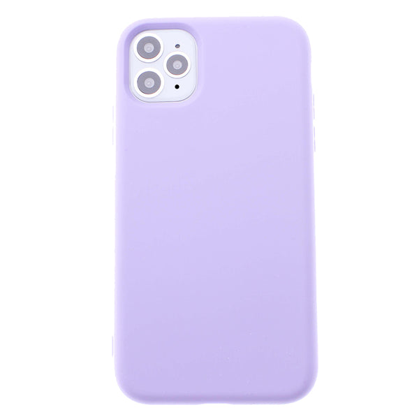 Light Purple iPhone 11 Pro Soft Silicone TPU Case