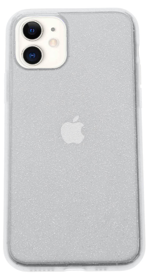 Clear Silicone Glitter iPhone 11