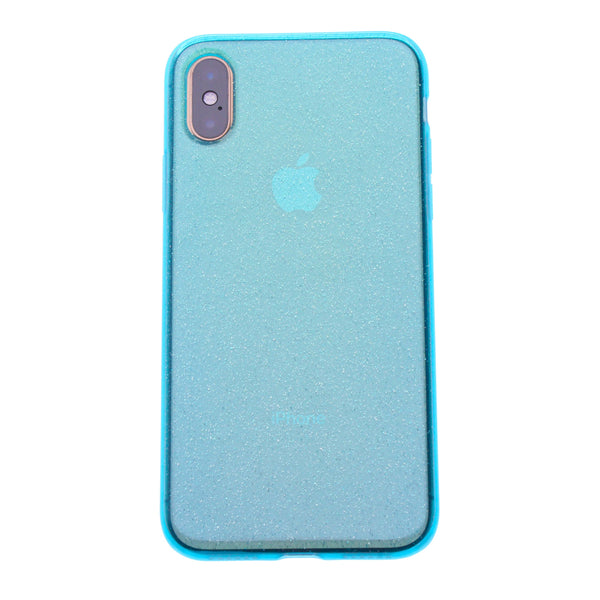 Sapphire Silicone Glitter iPhone XR