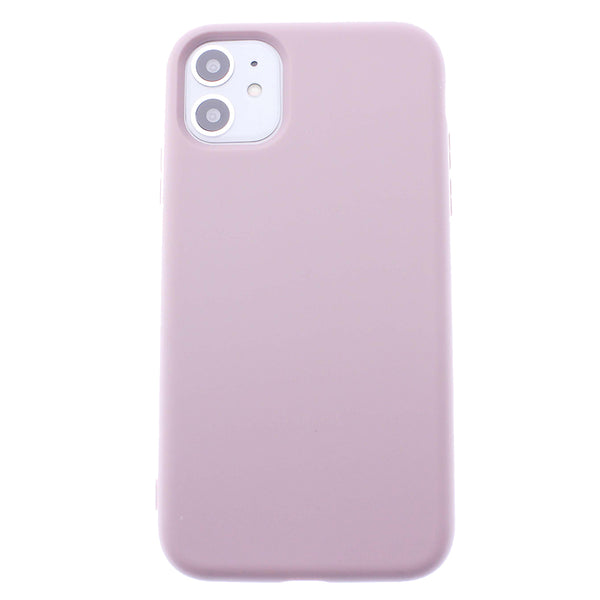 Sand Pink iPhone 11 Soft Silicone TPU Case