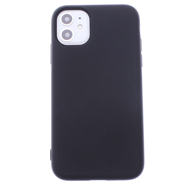 Black iPhone 11 Soft Silicone TPU Case
