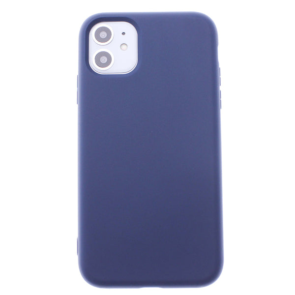 Navy Blue iPhone 11 Soft Silicone TPU Case