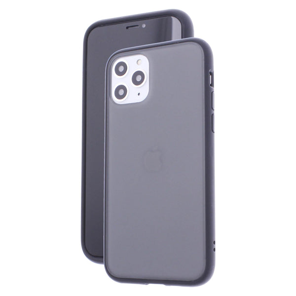 Black TPU Frame Black Button Soft Texture iPhone 11 Pro