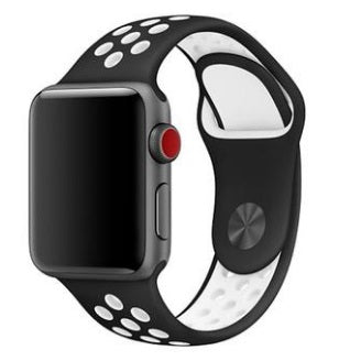 "Watch Sport Band 42""/44"" Black White"
