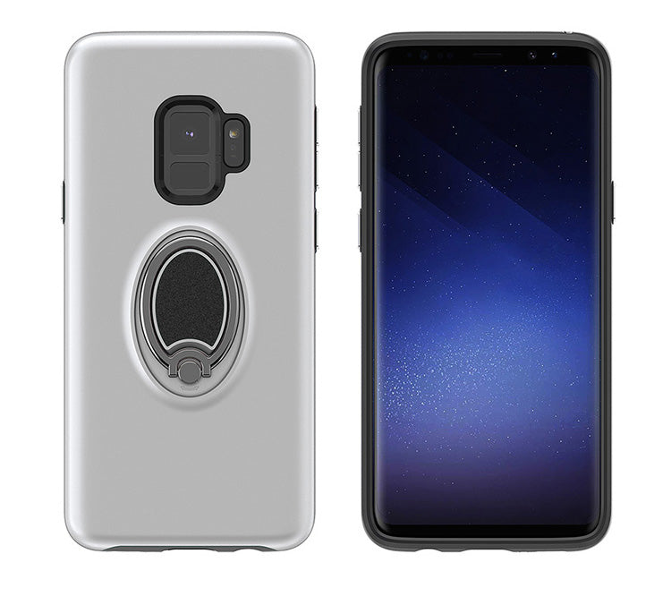 Galaxy S9 Golf with Magnet, Kickstand and Card Holder Silver