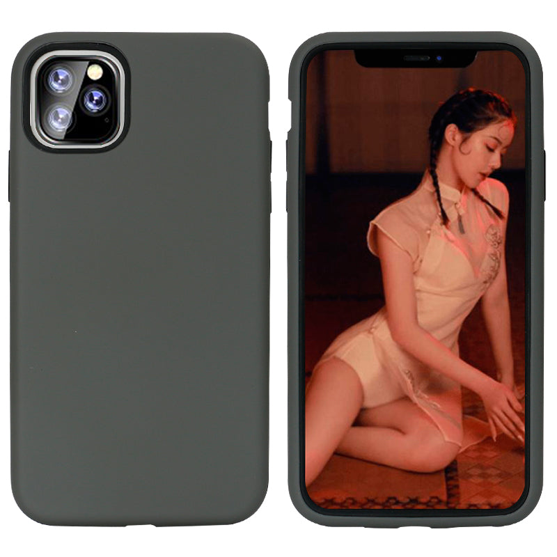 Silver iPhone 11 Pro Dual Max Case