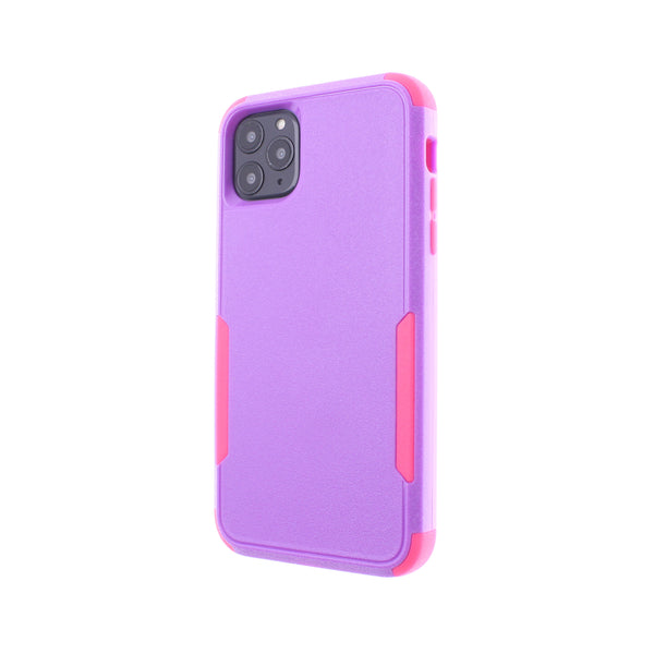 Purple/Hot Pink Triple Heavy Duty iPhone 11 Pro Max