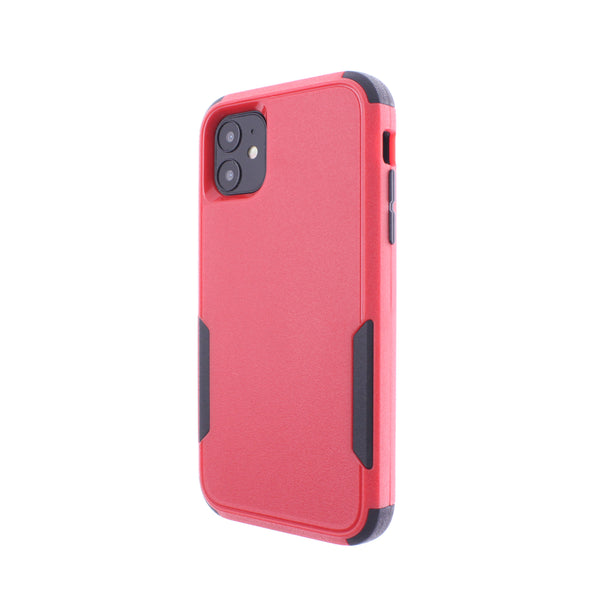 Red Black Triple Heavy Duty iPhone 11