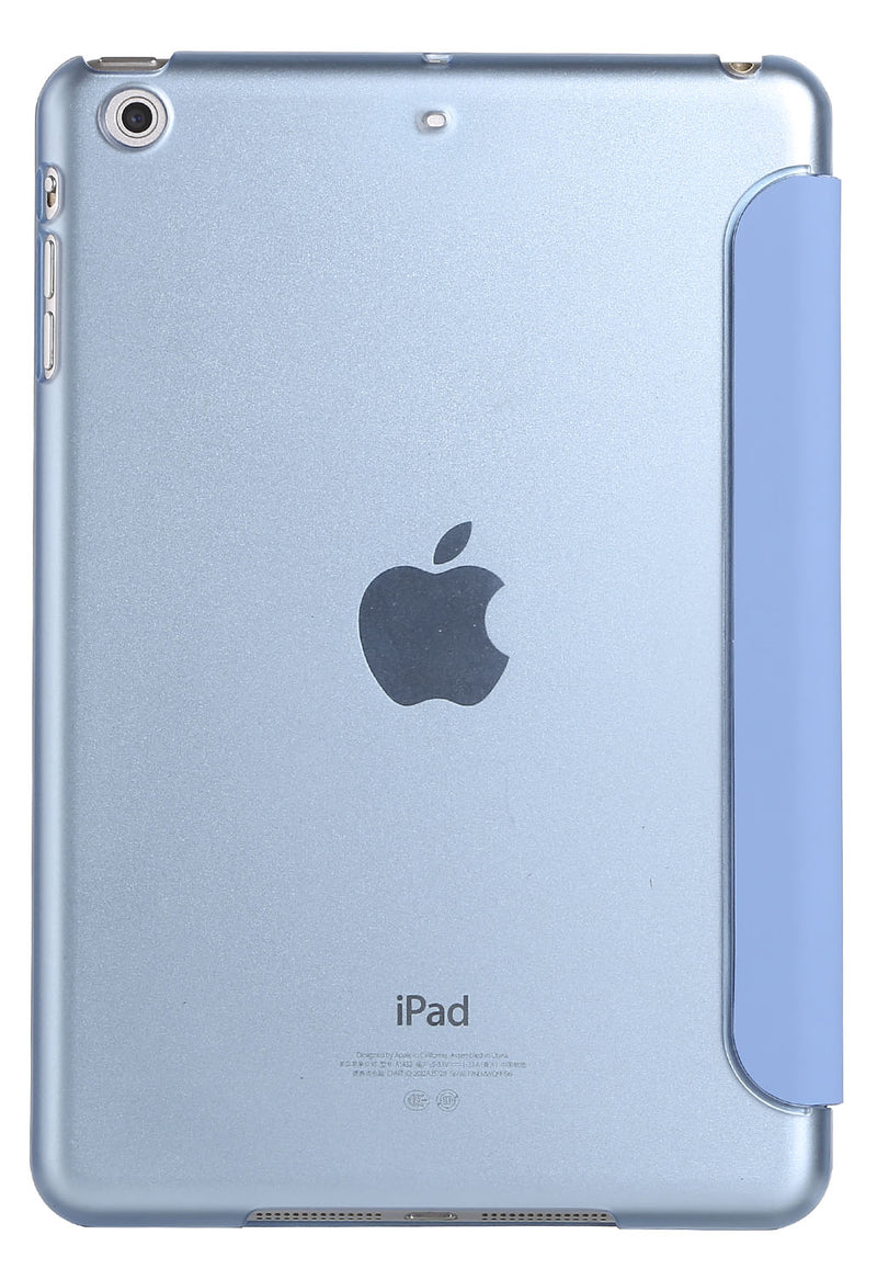 "iPad Pro 9.7"" Clear Case with Cover Sleep Mode Light Blue"