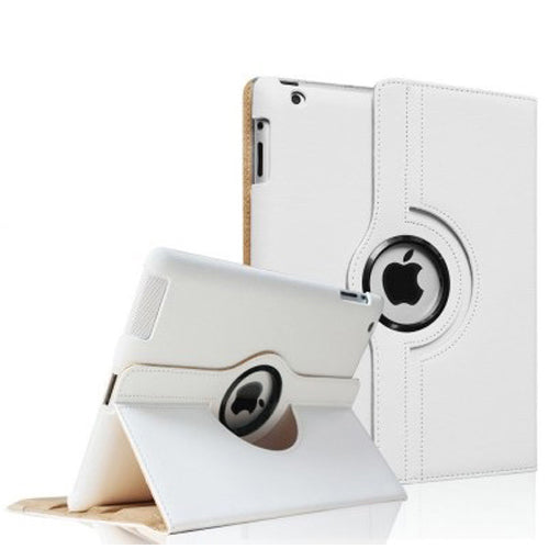 white iPad Air 2 PU Leather Folio Folding 360 Case