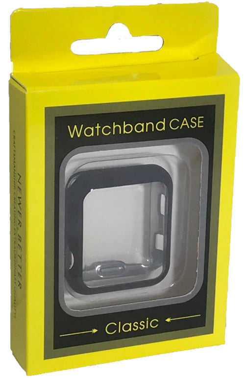"Watch Electroplating Full Protector 42"" Black"