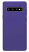 Samsung Galaxy S10 Soft Silicone Case Purple