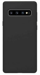 Samsung Galaxy S10 Soft Silicone Case Black