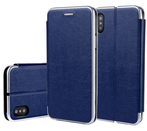 Blue iPhone X/XS Premium Wallet