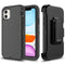 Black iPhone 11 Pro Max Heavy Duty Case