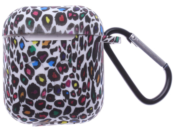Multy Colored Leopard AirPods Silicone Case