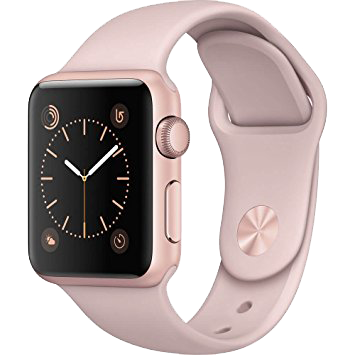 "Watch Silicone Band 38""/40"" Sand Pink"