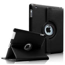 iPad Mini 1/2/3 PU Leather Folio Folding 360 Case Black