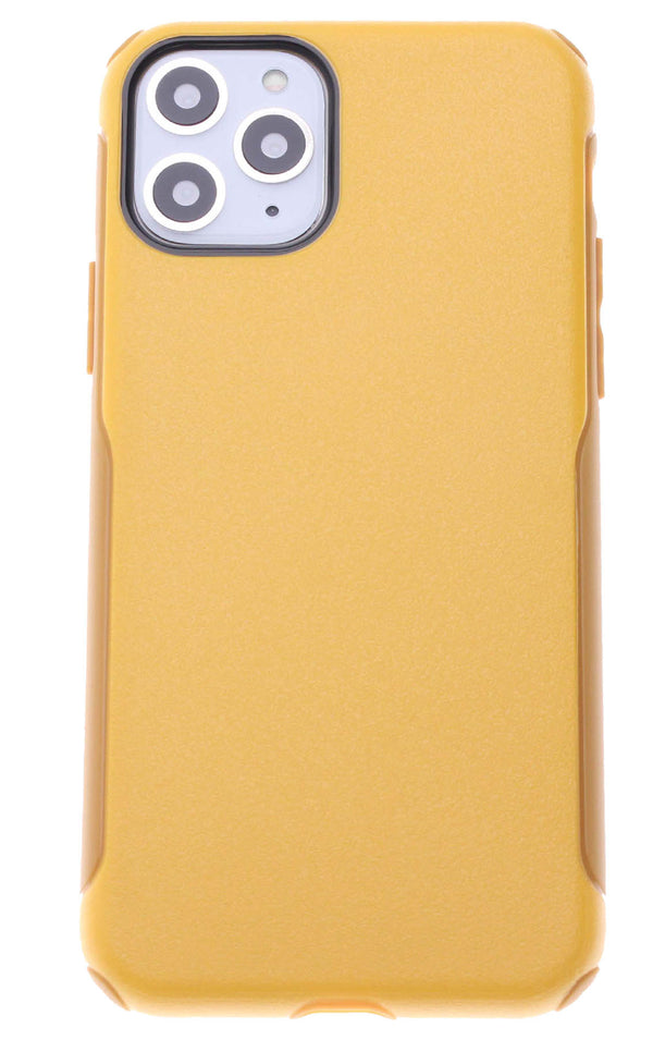 Yellow Dual Hybrid Case iPhone 11
