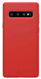 Samsung Galaxy S10 Soft Silicone Case Red