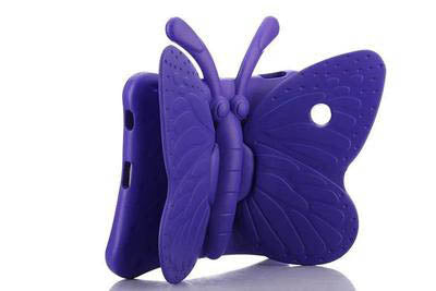 Purple Butterfly iSpongy Shock Proof Eva Case iPad Mini 1/2/3/4/5
