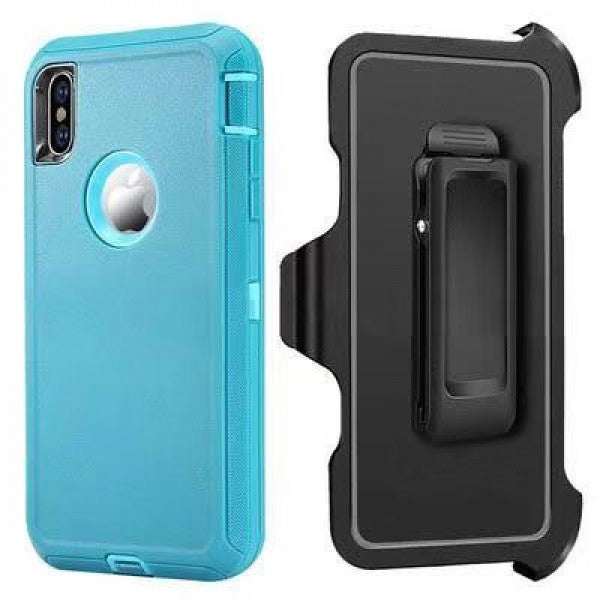 iPhone XR Heavy Duty Case Mint