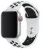 "Watch Sport Band 42""/44"" White Black"
