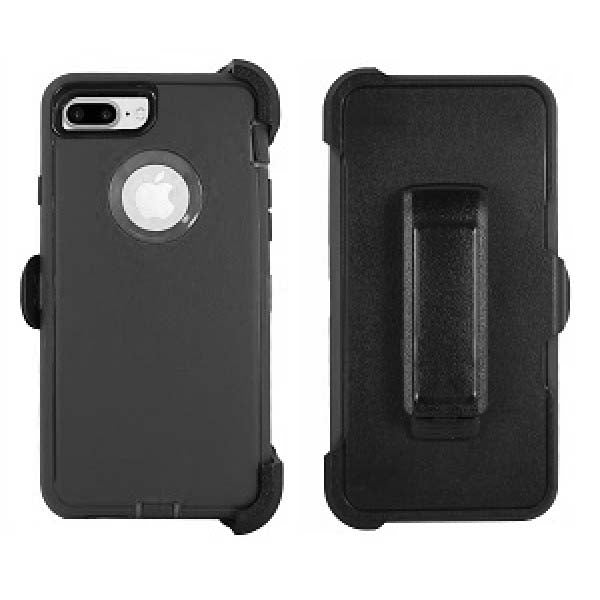 iPhone 8/7 Plus Heavy Duty Case Black