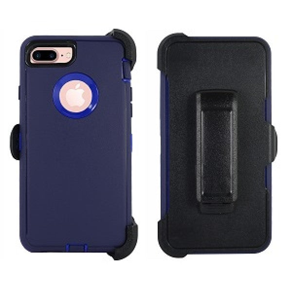 iPhone 8/7 Plus Heavy Duty Case Blue