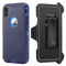 iPhone XR Heavy Duty Case Blue