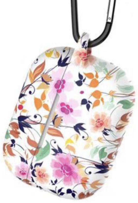 Flowers Design Air Pods 1/2 Silicone Case