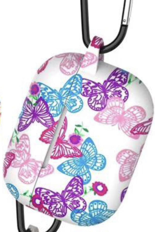 Butterfly Design Air Pods 1/2 Silicone Case