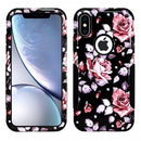 iPhone XS MAX Aries Design Pink Rose Black