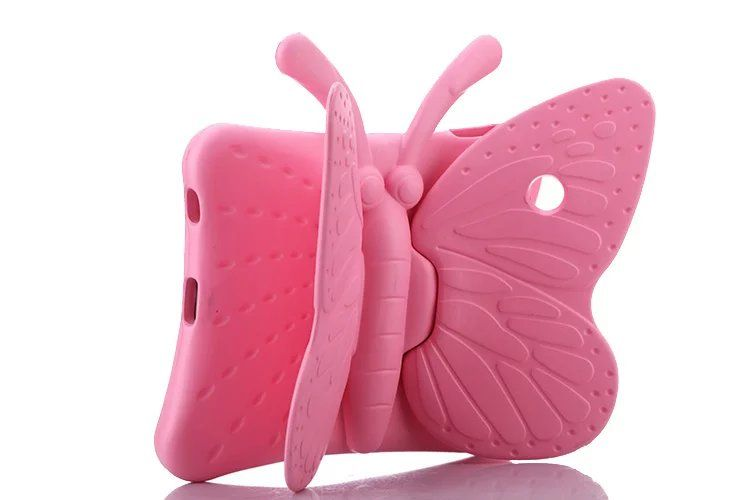 "Pink Butterfly iSpongy Shock Proof Eva Case iPad Air 1 / Air 2 / Pro 9.7"" / iPad 9.7"" (2017/2018)"