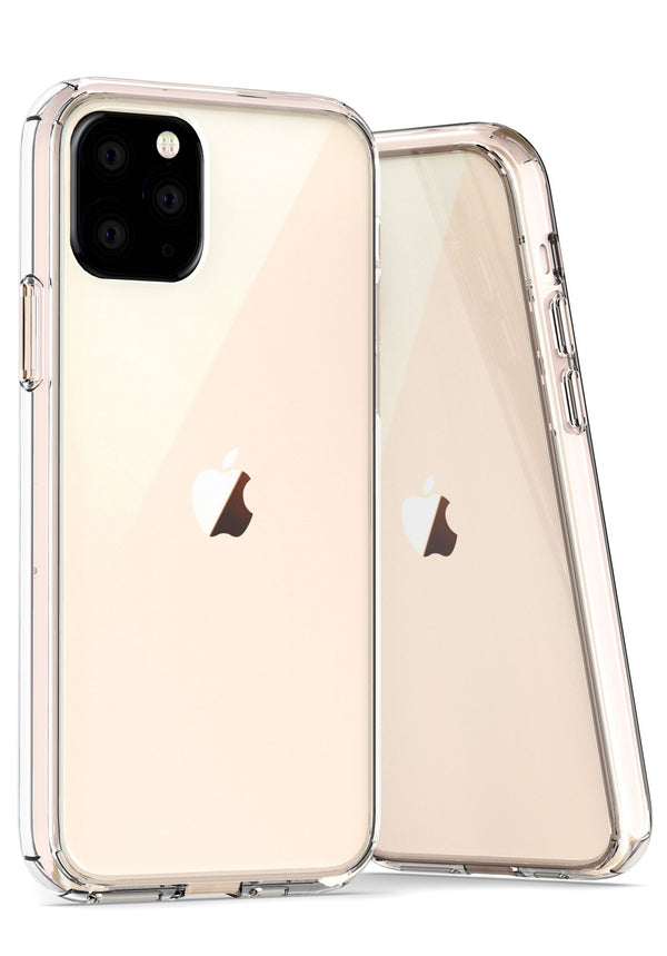 Clear iPhone 11 Hard Back TPU