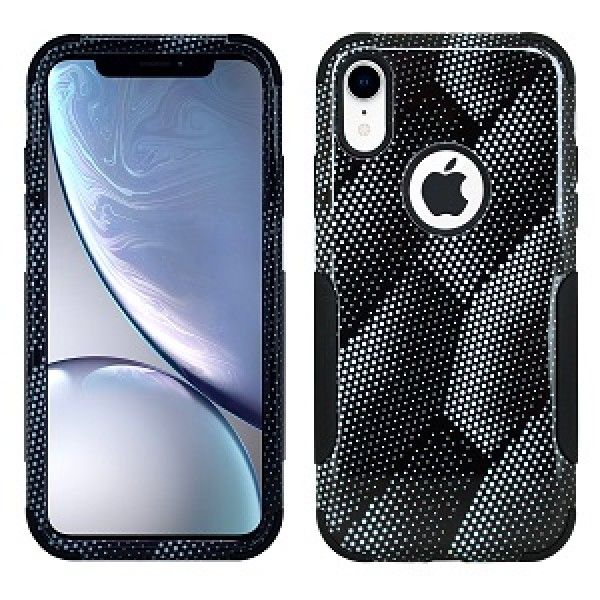 iPhone XS MAX Aries Design Carbon Strips Black