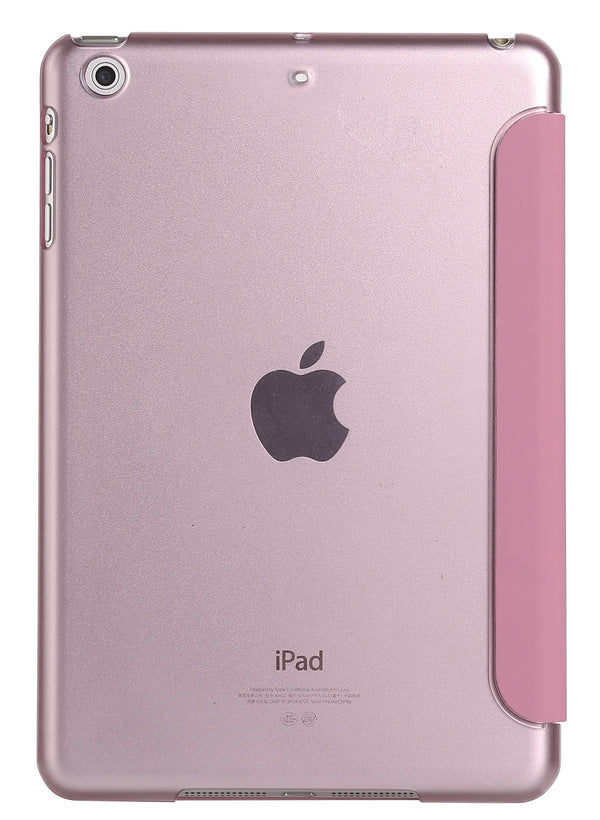 Rose Gold iPad Pro 12.9 Smart Cover with Sleep Mode Clear Back