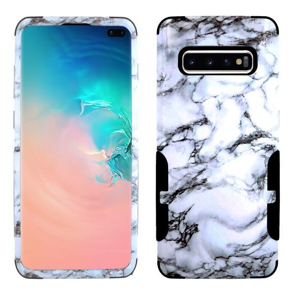 Galaxy S10 Plus Aries Design Grey Sky Black
