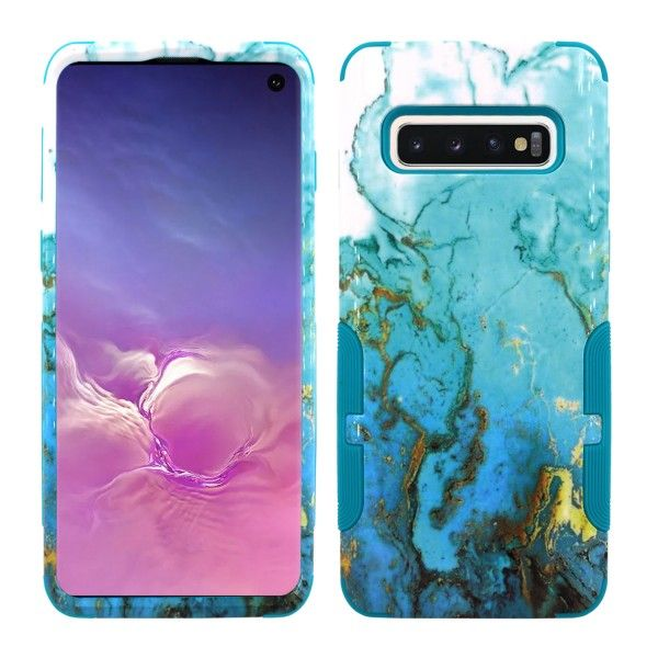 Galaxy S10 Plus Aries Design Teal River Teal