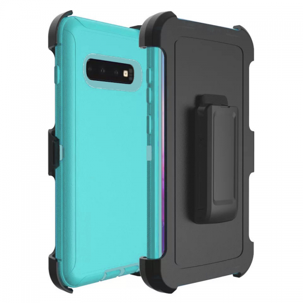 Mint Galaxy S10 Plus Heavy Duty Case