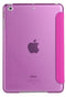 "iPad 2/3/4 9.7"" Smart Cover with Sleep Mode Clear Back Pink"