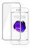 iPhone 8/7 Tempered Glass Metal Frame Silver