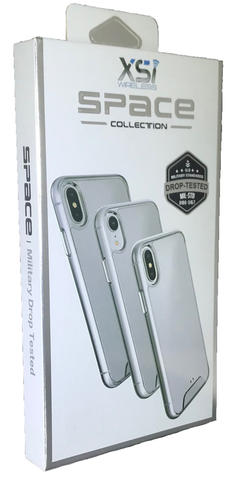 Clear iPhone XS MAX Space Case